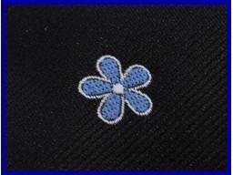 Cravata Mason Floare de nu ma uita
