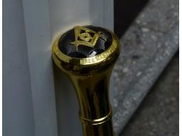 Baston Masonic Virtus Junxit Mors Non Separabit