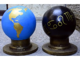 set glob pamantesc +glob celest pentru coloanele J si B