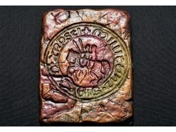 Placheta Ceramica Sigiliu Templier