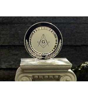 Platou Silver lauri si echer&compas