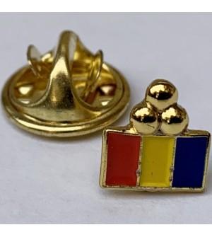 Pin  Trei Puncte Tricolor Centenar